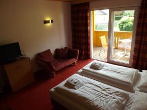 Da Capo Panzió: kétágyas szoba terasszal